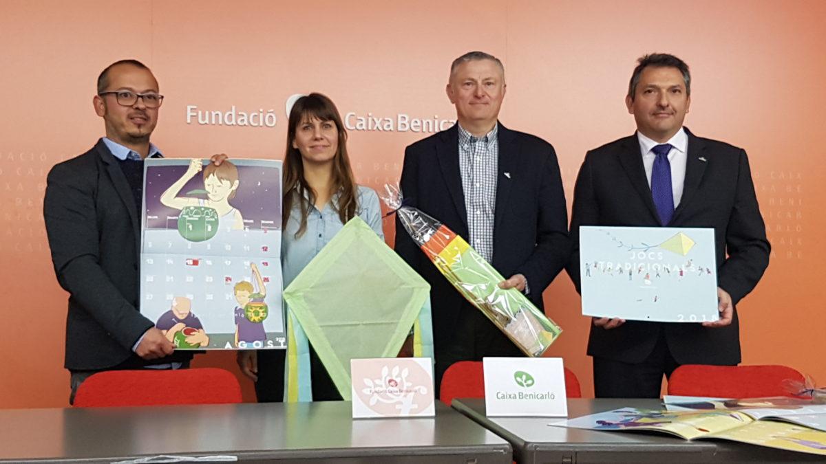 Caixa Benicarló et convida a jugar amb el seu calendari 2018