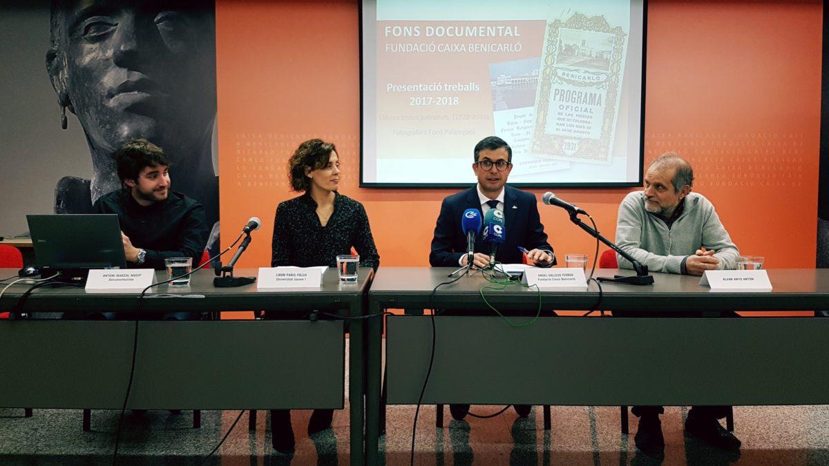La Fundació Caixa Benicarló amplia el seu fons documental