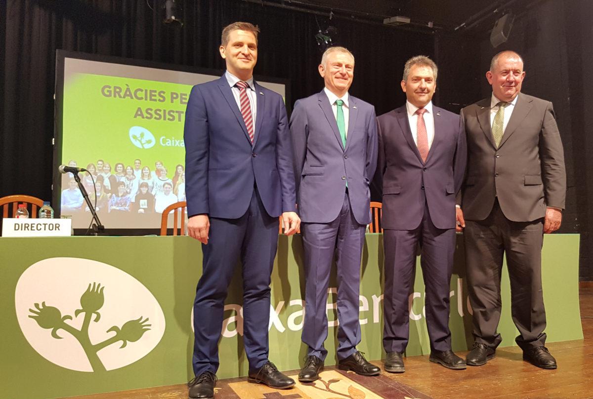 Caixa Benicarló creix un 6,36% en 2017