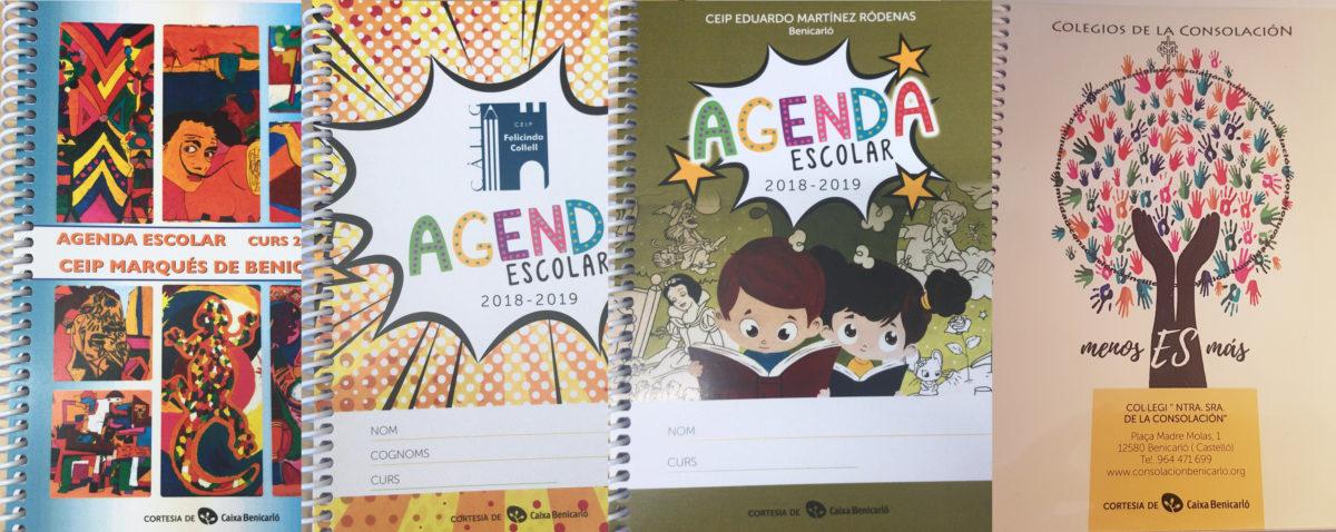 3.360 agendes per als escolars de Primària de Benicarló, Càlig i Peníscola