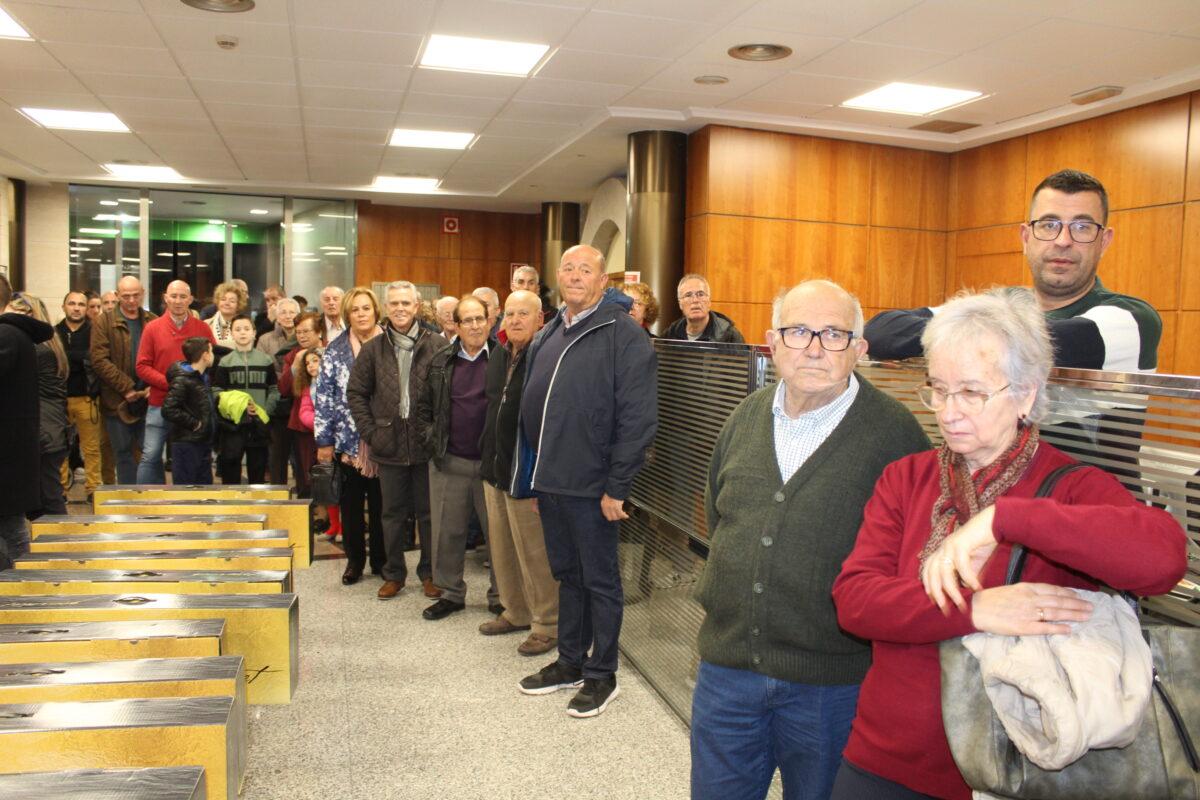 Caixa Benicarló entrega els lots del sorteig de Nadal