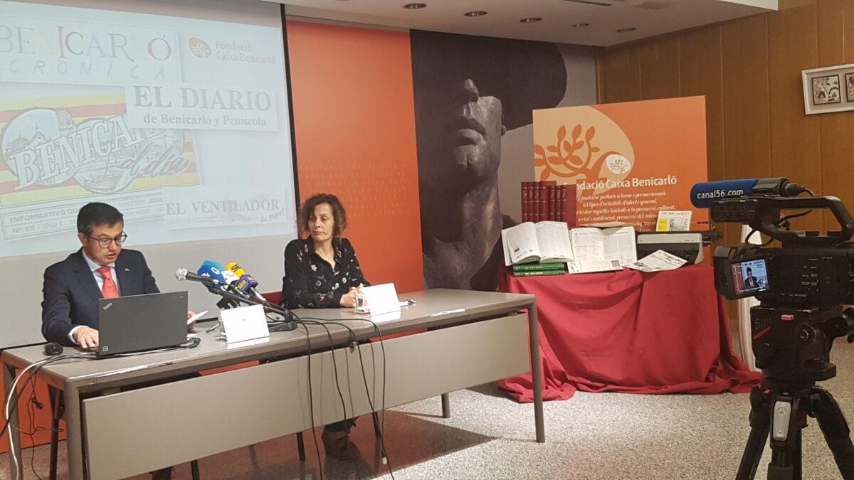 Caixa Benicarló amplia el seu fons documental amb premsa local