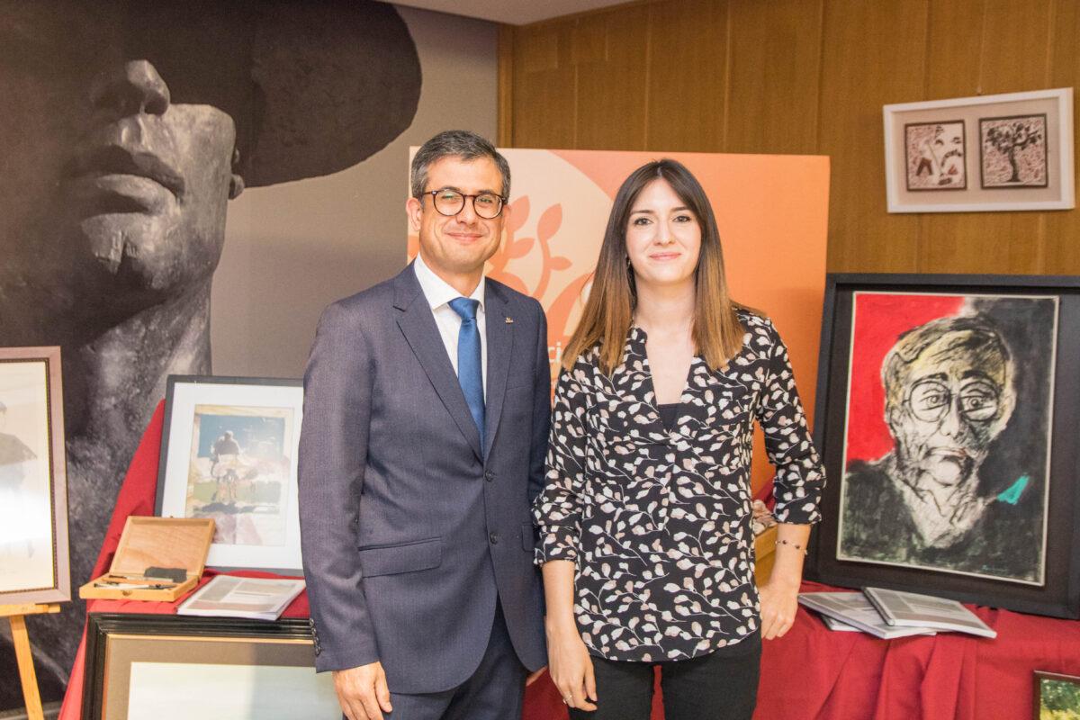 Caixa Benicarló estrena el catàleg del seu fons artístic