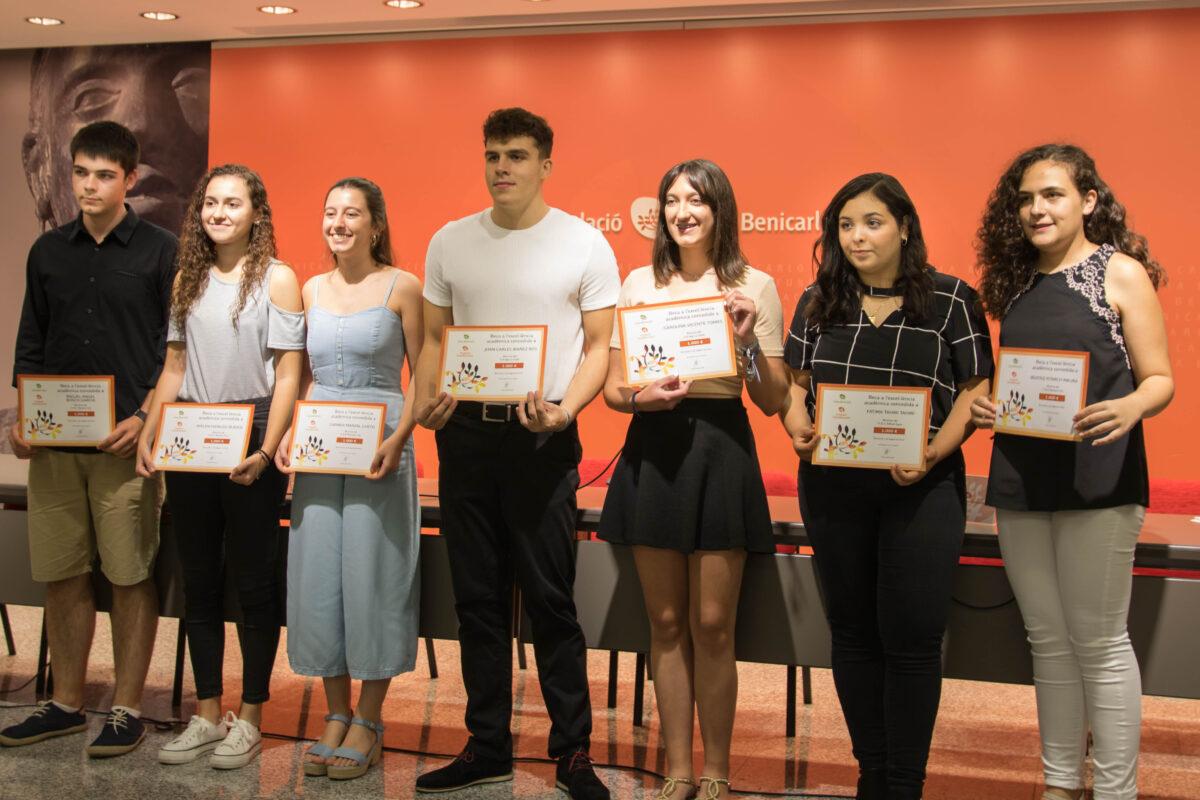Les Beques a l'Excel·lència de Caixa Benicarló premien 7 estudiants amb 7.000€