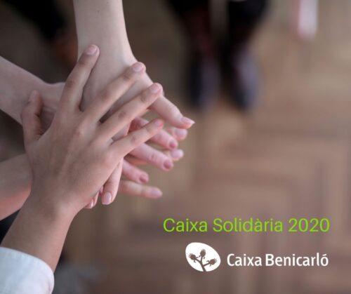 La solidaritat de Caixa Benicarló reparteix 10.000€ entre 13 entitats socials