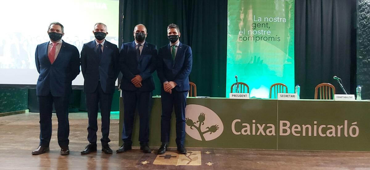 Caixa Benicarló amplia el seu balanç en 2020 fins els 356 milions d'euros